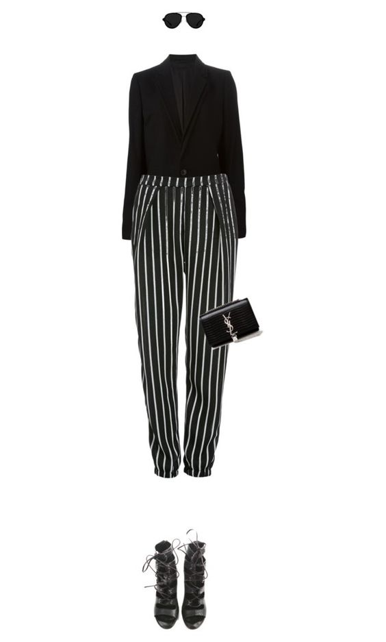 """Untitled #2606"" by mitchelcrandell ❤ liked on Polyvore featuring A.F. Vandevorst, Glamorous, Balmain, Yves Saint Laurent, 3.1 Phillip Lim, women's clothing, women, female, woman and misses"