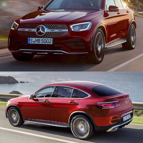 2020 Mercedes Benz Glc Coupe Official Photos What Do You Say Like