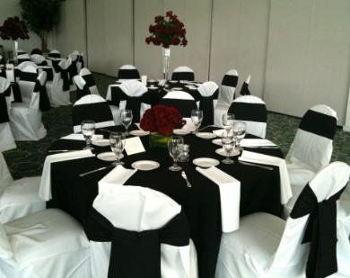 black and red table settings - pezcame.com & Black And Red Table Settings \u0026 Red And Black Reception Table Setting ...