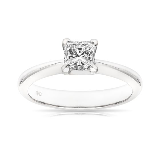 18ct White Gold Stylus Ring | Hardy Brothers Jewellers