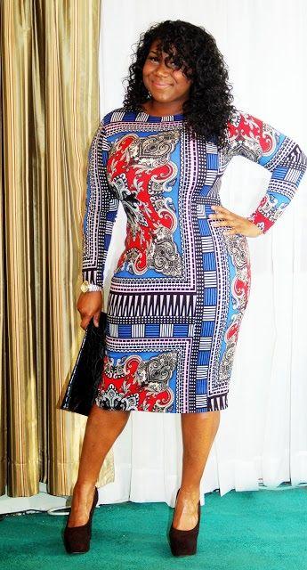 Kiersten, 23, NJ  http://bitemyheathbar.blogspot.com/  This is a nice design and it looks great on this full figured woman.