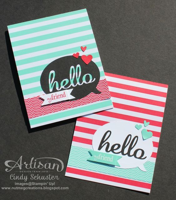 Nutmeg Creations's Cindy Schuster - Hello Fresh Print E-Cutter card with My Digital Studio: