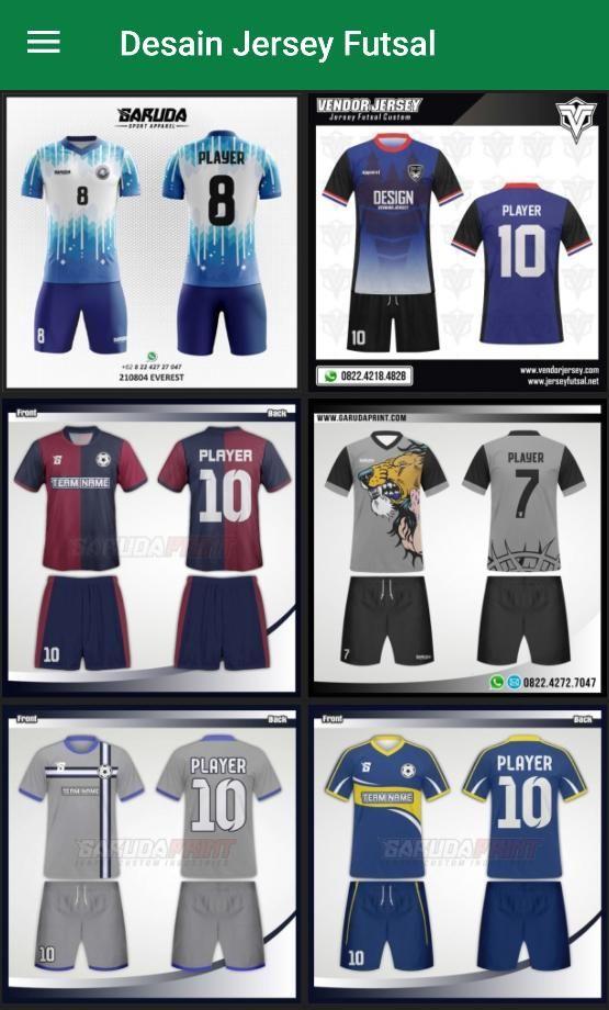 Desain Baju Olahraga Keren