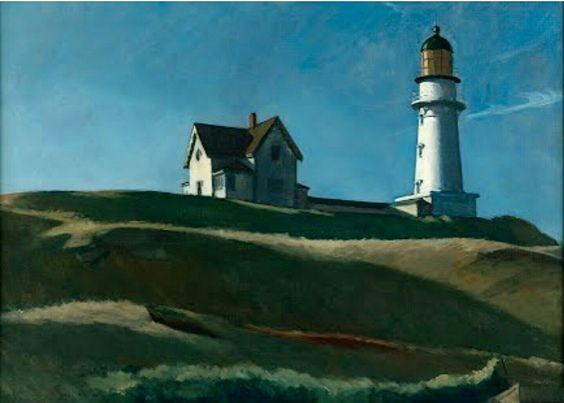 Lighthouse Hill. Edward Hopper.1927.#art #lighthouse