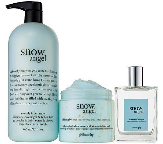 Philosophy Bubble Bash Layering Trio Auto Delivery Qvc Com Shower Gel Fragrance Spray Philosophy Shower Gel