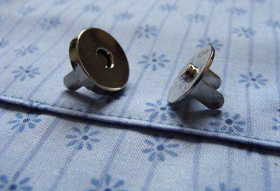 Magneetsluitingen zetten