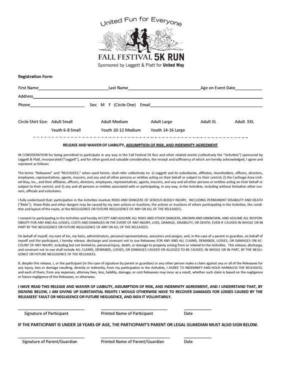 Zombie Dash 5k Registration Form Zombie Dash 5K Pinterest - event registration form template word