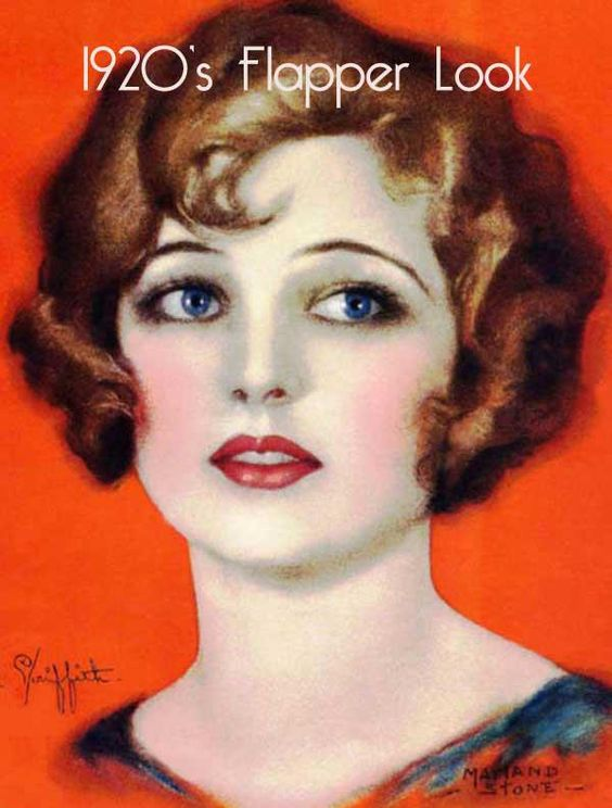 A 1920s makeup and Hair Look  http://vintagemakeupguide.com/