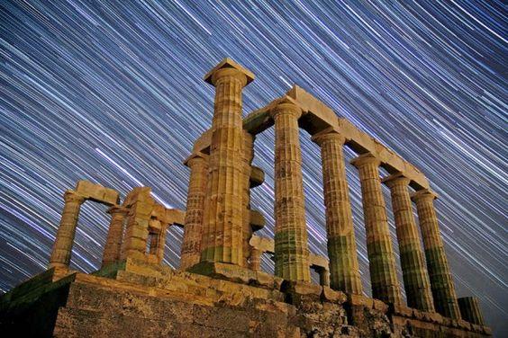 Poseidon Temple in Athens Sounio