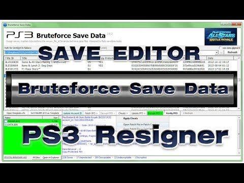 (¯`·._.·[PS3] - BruteForce Savedata 4.7.4]·._.·´¯) FUNCIONA -TESTADO - S...