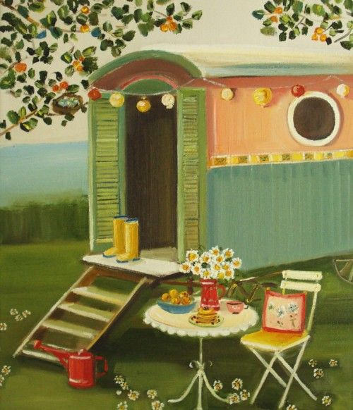 Caravan ~ Janet Hill