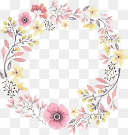 Wreath Png Vector Psd And Clipart With Transparent Background For Free Download Pngtree Free Watercolor Flowers Flower Png Images Wreath Watercolor