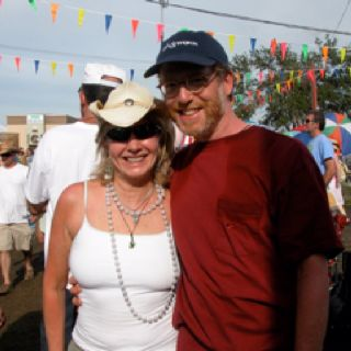 Me and John at Jazzfest