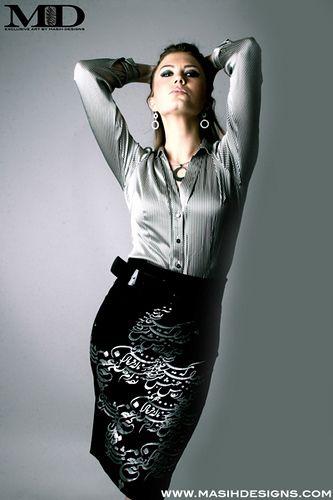 T Shirt Persian Design