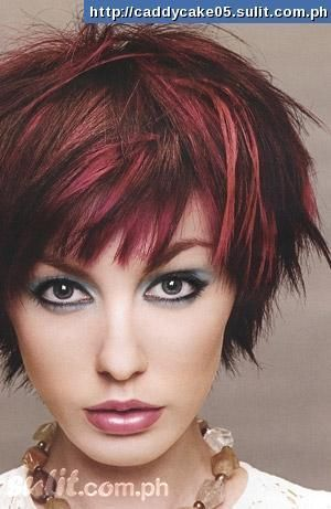 Fantastic 20 Stylish Colors For Short Hair Burgundy Color Highlights And Hairstyles For Women Draintrainus