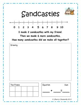 December Addition Word Problems   Equation, Kindergarten addition ...