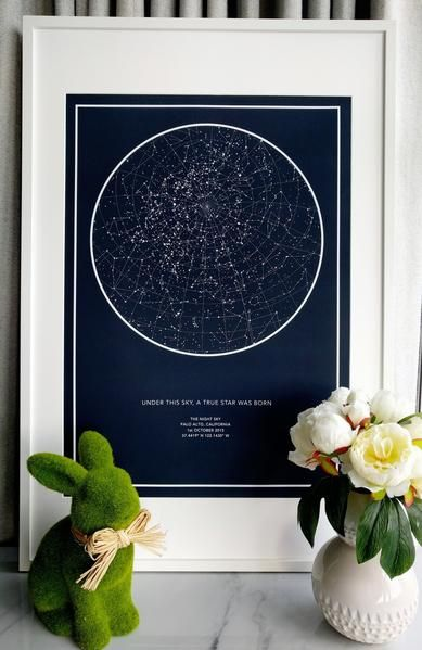 Create Your Very Own Unique Star Map Star Map Gifts Night Skies