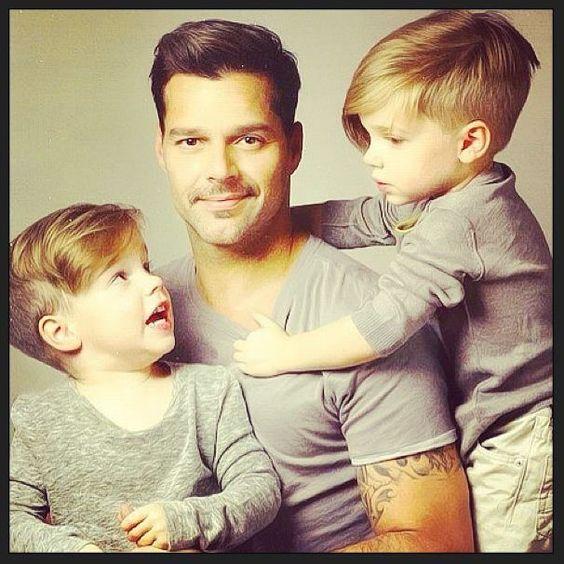 Ricky Martin Kids Haircut