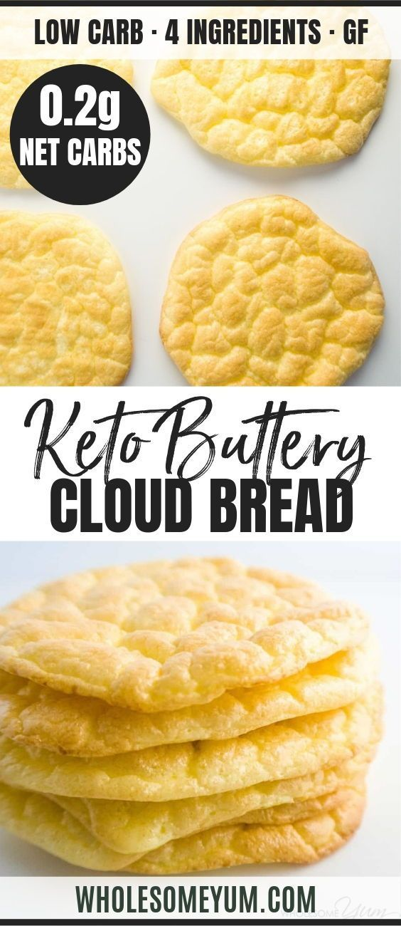 The Best Keto Cloud Bread Recipe Is Easy Light Buttery The
