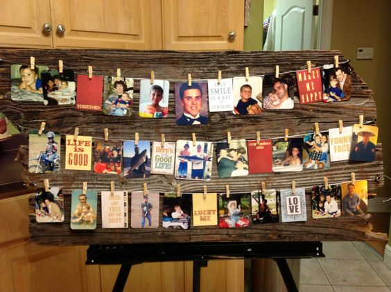 Wedding Gift Ideas For Elder Brother : For part of my nephews high school graduation gift & decor for ...