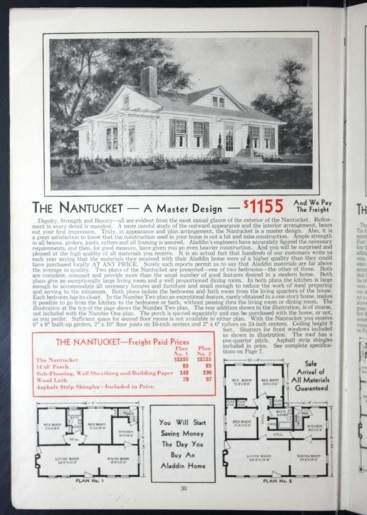 Aladdin Homes 1931 Nantucket 2 Ways Archive Org Kit Homes Dormers Nantucket