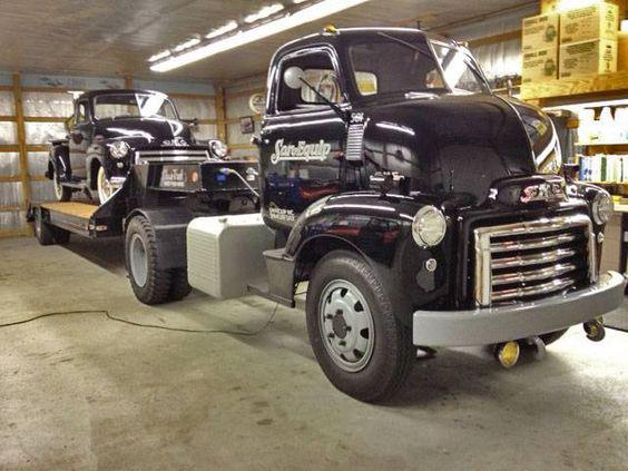 Antique Gmc Tractors : Gmc fc coe road tractor trailer klassic trucks