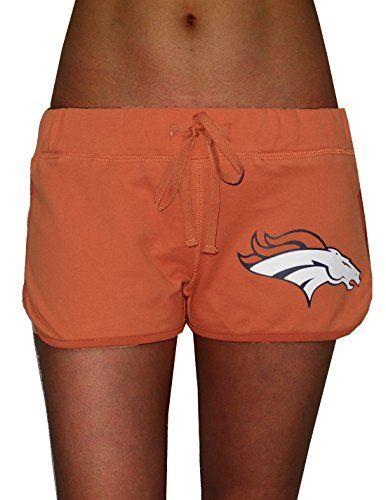 PINK VICTORIA'S SECRET WOMENS Denver Broncos Sports Short…