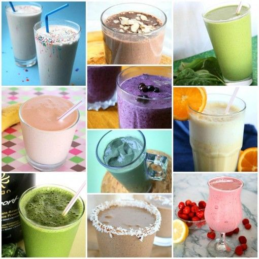 colourful smoothie challenge!