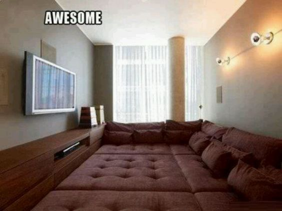I would be on this couch all the time