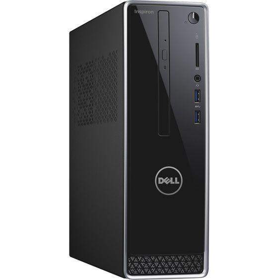Dell Inspiron Inspiron-3252 Desktop Computer - Intel Pentium N3700 1., #i3252-10050BLK