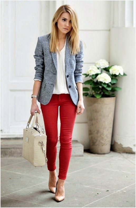 42 Stylish And Trendy Business Casual For Women Spring Work Outfits