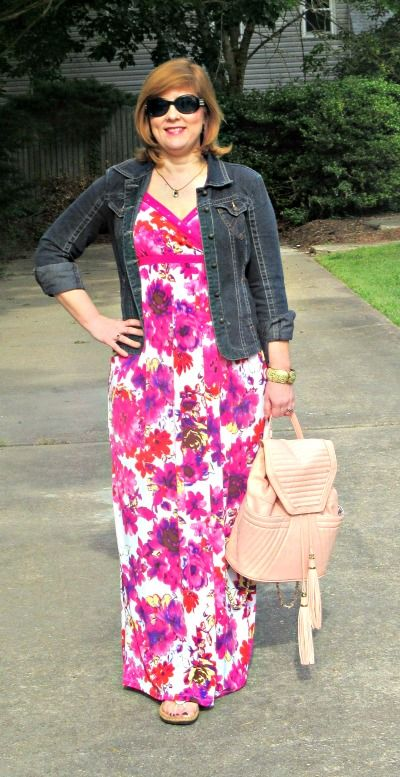 Maxi Dress, Love...Women Over 40 fashion blogger: