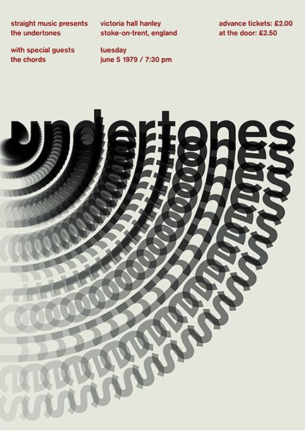Undertones by Mike Joyce swissted Graphics with Style - how to make tickets on word