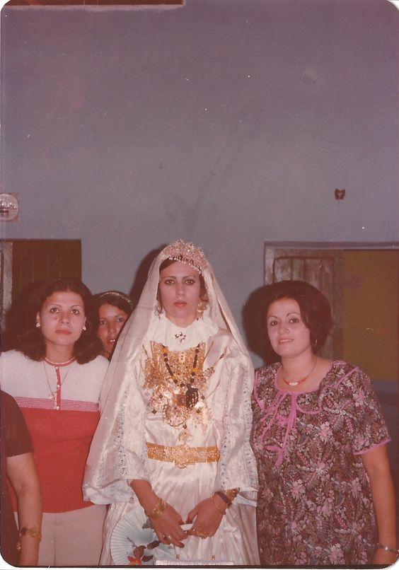 Libyan Bride . Al Oujailaat Tripoli 1977