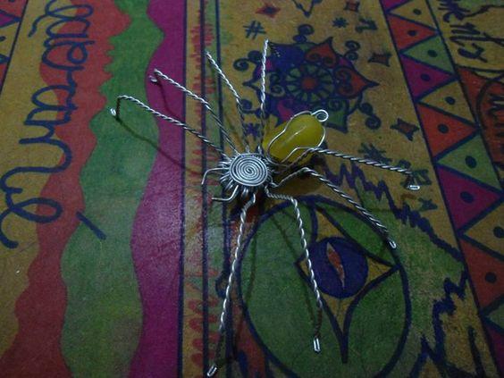 Aranha arame galvanizado