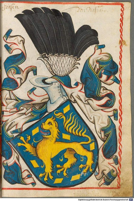 Scheibler'sches Wappenbuch Süddeutschland, um 1450 - 17. Jh. Cod.icon. 312 c  Folio 35