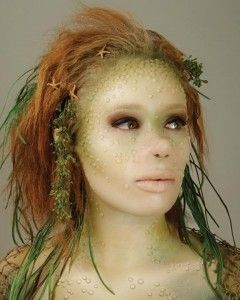 A make-up designory transformation. Don't miss their FX stage at The Makeup Show NYC