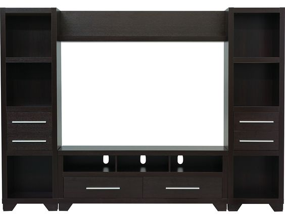 """Glendale 4-Piece Entertainment Centre with 60"""" TV Opening – Espresso, (2706PK4) 