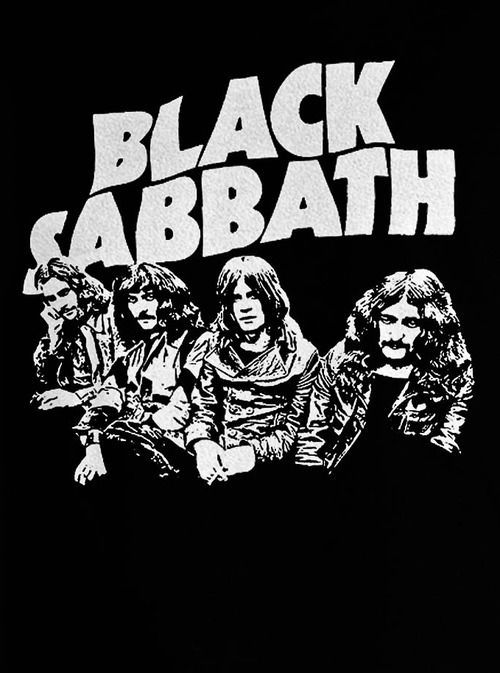 black sabbath in black and white blackandwhite