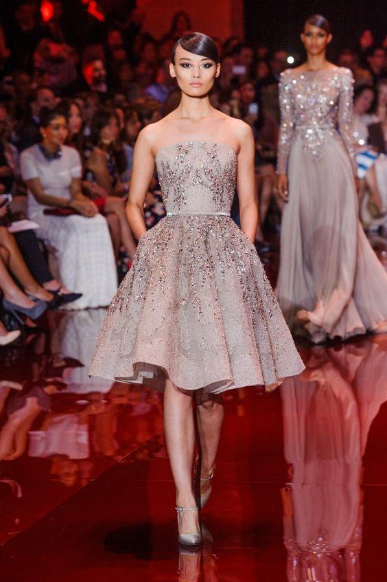 Défilé Haute Couture Elie Saab Automne-Hiver 2014