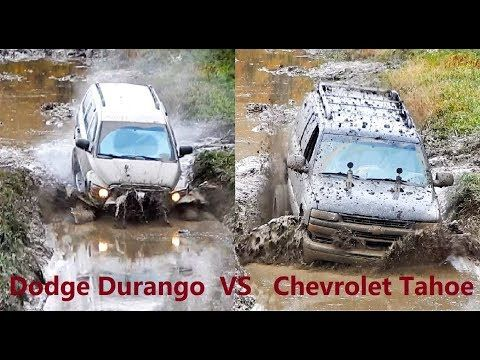 Chevrolet Tahoe Vs Dodge Durango Off Road Mudding Chevrolet
