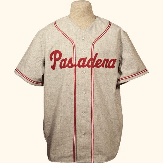 Pasadena Junior College 1938 Road Jersey In 2021 College Junior School Baseball National Baseball League