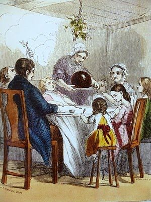 A+19th+century+illustration+of+the+Christmas+feast.jpg (300×400):