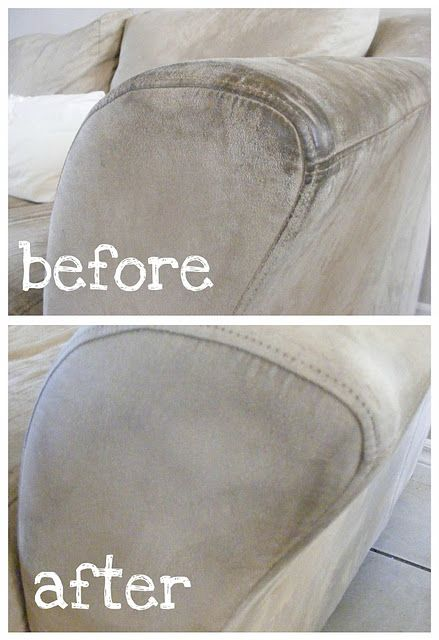HOW TO CLEAN MICROFIBER FURNITURE. --good to know! Our kitchen chairs need some L-O-V-E!!