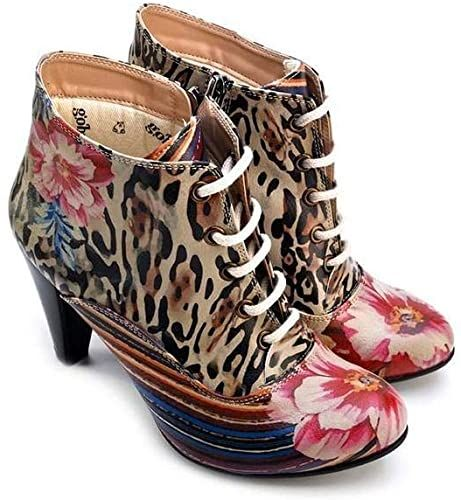Goby Women Owl Ankle Boots PH114