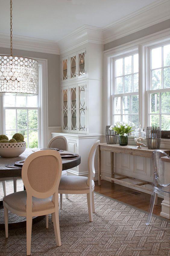 Comedores, Vitrinas and Diseño de interiores on Pinterest