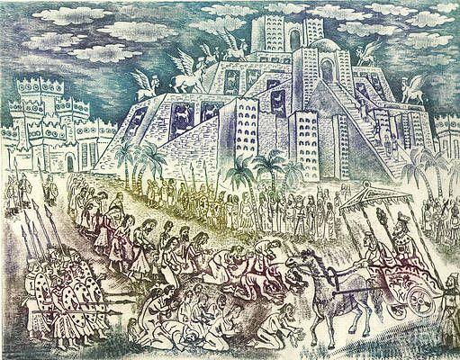 Babylonian captivity of the Jews by Milen Litchkov