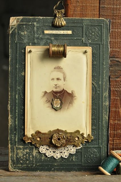Vintage Book Cover Frame : Photo backgrounds altered books and i love on pinterest