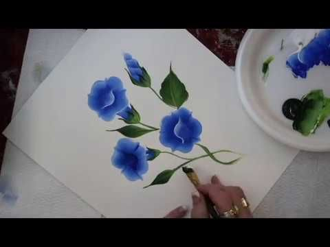 Pin On Painting One Stroke With Acrylics
