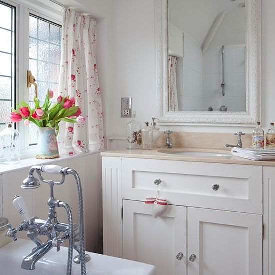 Country Bathrooms Vanity Units And Painted Vanity On Pinterest
